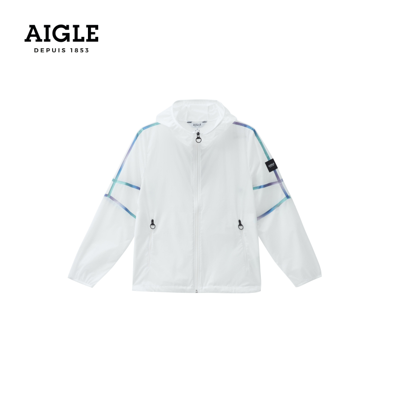 AIGLE Aigao Spring Summer 2021 new MS. NOPOTO water-resistant lightweight jacket hooded casual jacket
