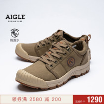 (20 spring and summer new products) France Aigle Aigle lady water repellent low rubber shoes TL LOW W CVS