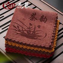 Кунг-фу чай полотенце высококачественной чайной ткани поглощает воду и утолщает чай набор полотенце чай скатерть ткань Дзэн ткань площадку аксессуары чай