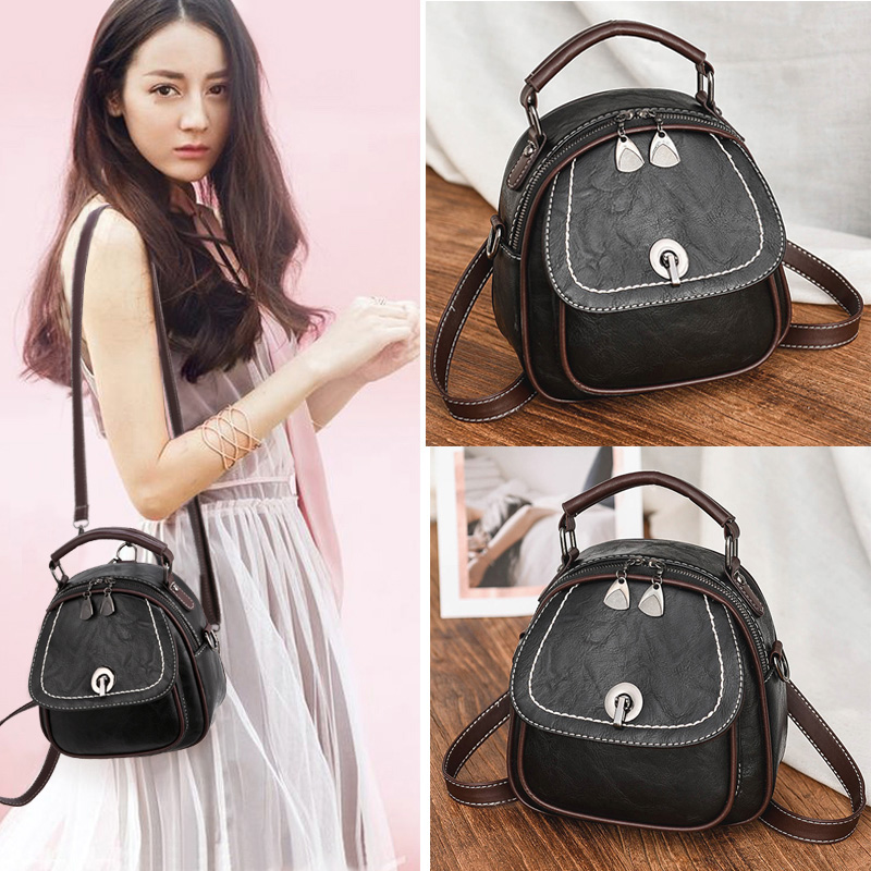 On the new small bag female 2018 new wave autumn Korean version of the fashion wild Messenger retro ladies texture handbags