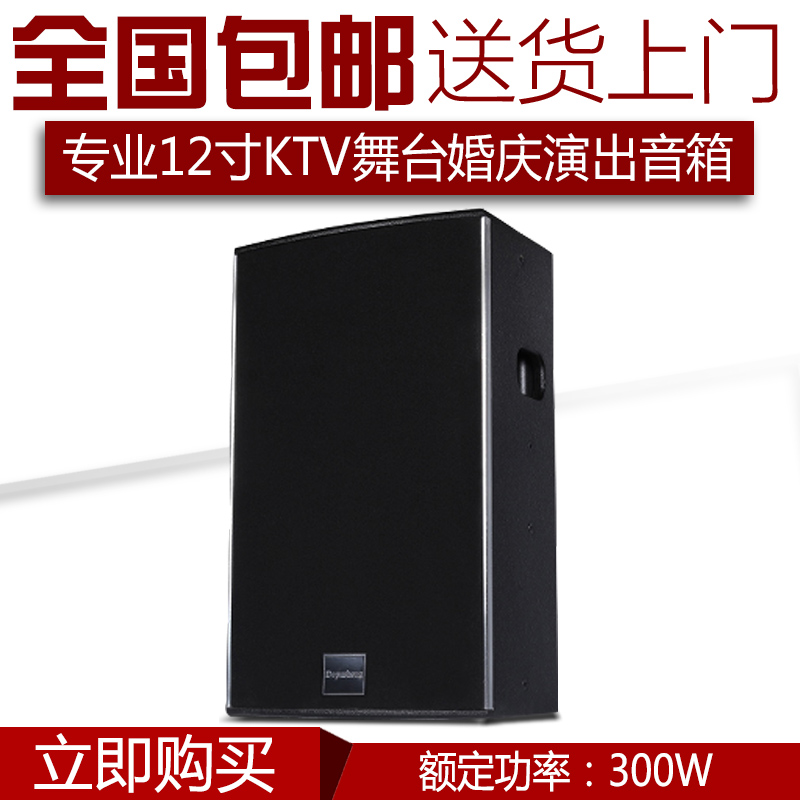 DEPUSHENG ds12 Professional 12-inch KTV Stage Speaker Wedding Performance Conference KTV Engineering Hifi Audio