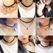 Our chain of Korean students on clavicular Necklace Choker simple neck Jewelry Pendant Necklace with short jin