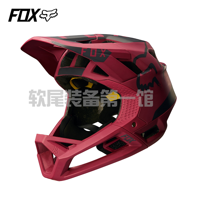 17 autumn new US FOX full face helmet PROFRAME mountain bike riding helmet breathable lightweight DHAMXC helmet