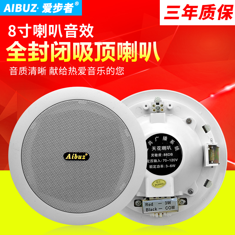 AIBUZ YLD-603-604 Ceiling Speaker Ceiling Loudspeaker Campus Broadcast Background Music