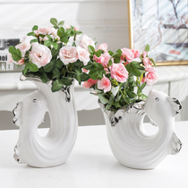 Living room ornaments fish home accessories TV cabinet decoration flower bedside table set up Joe move new home gift wedding gifts