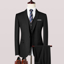 Mens slim handsome suit