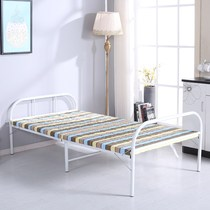 The fold-out bed single board bed shrink bed wood bed lunch break bed adult family single bed invisible bed simple