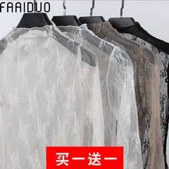 Кружево рубашки Шифон рубашка