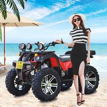 ATV Gasoline Electric All-terrain Four Wheel size Bull Beach Adult Walking Four Wheel drive Large Off-road Motorcycle