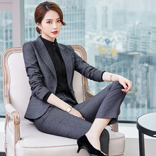 Fashion Suit for Women Professional Suit Three-piece Suit for Autumn 2009 Manager Temperament OL High-end Business Workwear