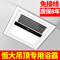 Sergeant Lei party flagship store hengpei junior college bathroom heater 350x350 integrated ceiling 35x35 constant