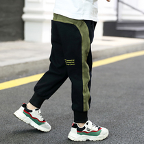 Boys pants 2020 new spring Korean version childrens spring and autumn leisure pants in the Big child baby sports pants