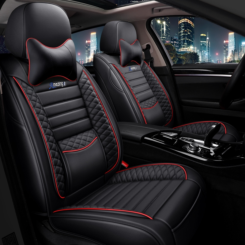 Volkswagens fast-paced Long Yi Passat sings a view of the Maitenbola car cushion all-inclusive summer ice silk seat cover