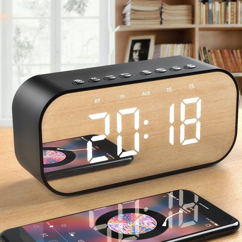 Wake up simple alarm clock creative students fashionable personality lazy multi-functional junior high school practical Korean version pendulum.