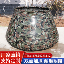 Outdoor large capacity water bag Fire site foldable mobile thickened soft water storage tank bag Household box reservoir