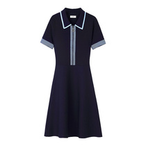 2021 new summer high-end large-size womens wear age-reducing French design sense niche high-end temperament dress trend