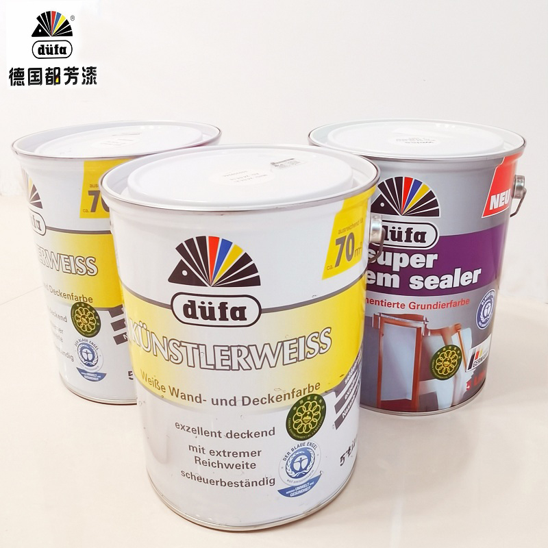 German Dovonkule water-like interior wall paint set 2 barrels of finish and 1 barrel of primer