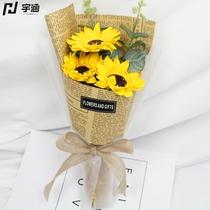 День учителя сюрприз маленький подарок имитация гвоздика мыло цветы отправить учитель мама подсолнух розы мыло букет