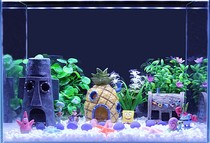 Fish tank scenery underwater world fish tank landscape set a full set of fish tank set pieces to create a view of the sea floor world set sea
