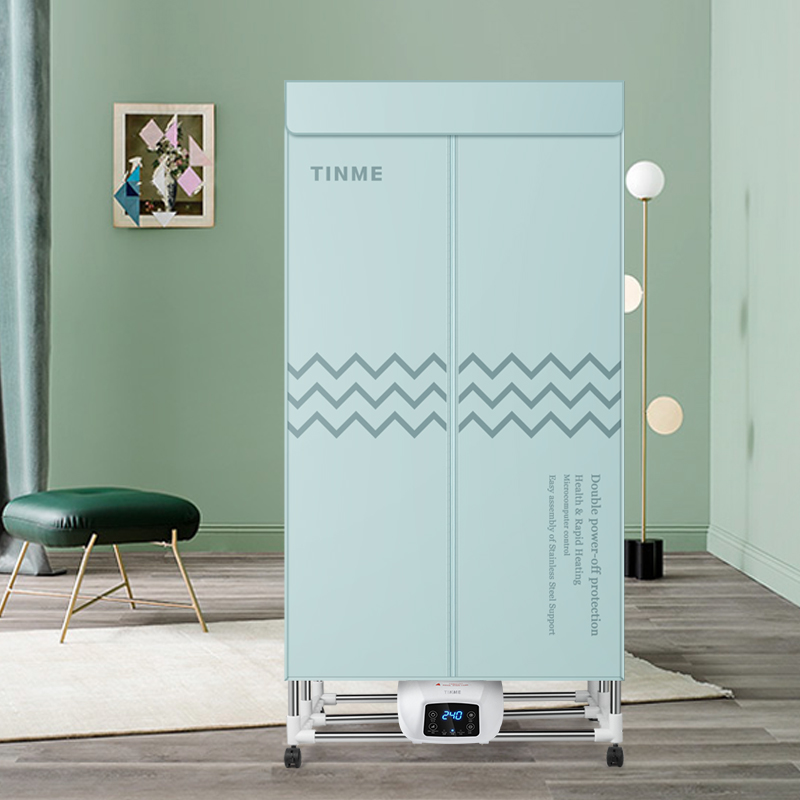 German TINME folding dryer home fast dryer dryer large capacity wardrobe remote control dryer