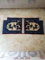 韩国马具地毯式毛加丝混纺促销马鞍用品蒙古减震坐垫55cm乘13