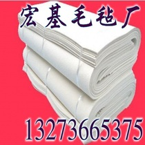 High-quality industrial felt High-density high-temperature oil-absorbing wear-resistant sound insulation dust-proof seal polished wool felt strip ring block
