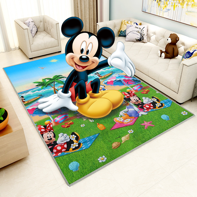 Disney child climbing pad thickening home living room baby crawling pad foam mattress baby child carpet