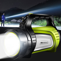 Flashlight bright light charging outdoor ultra-bright far shooter lantern search xenon long-range argon home large capacity