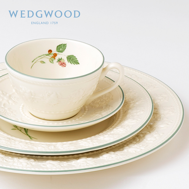 WEDGWOOD happy holiday ceramic teacups tea set cups european small luxury coffee cup dishes