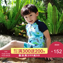 Angel children's clothing boy boy girl swimsuit 2018 summer new conjoined swimsuit EM827269