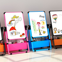 Childrens drawing board Magnetic bracket type small blackboard Home baby writing whiteboard doodle Erasable dust-free easel