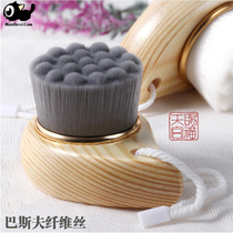 Manual Bamboo Charcoal Wash Face Brush cleanser soft hair to black head clean pores face cleansing brush cleansing Brush