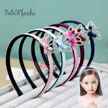 South Korean children's hair girl baby girl hairpin crown princess diamond hair hoop head hoop toothed headdress