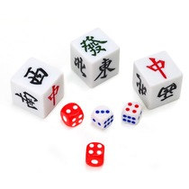 Dice boson sieve Mahjong color Dice Bar KTV nightclub game prop points Dice