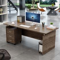Simple desk Single desktop Computer desk Boss Staff Combination Economy Four-person Supervisor desk Manager desk