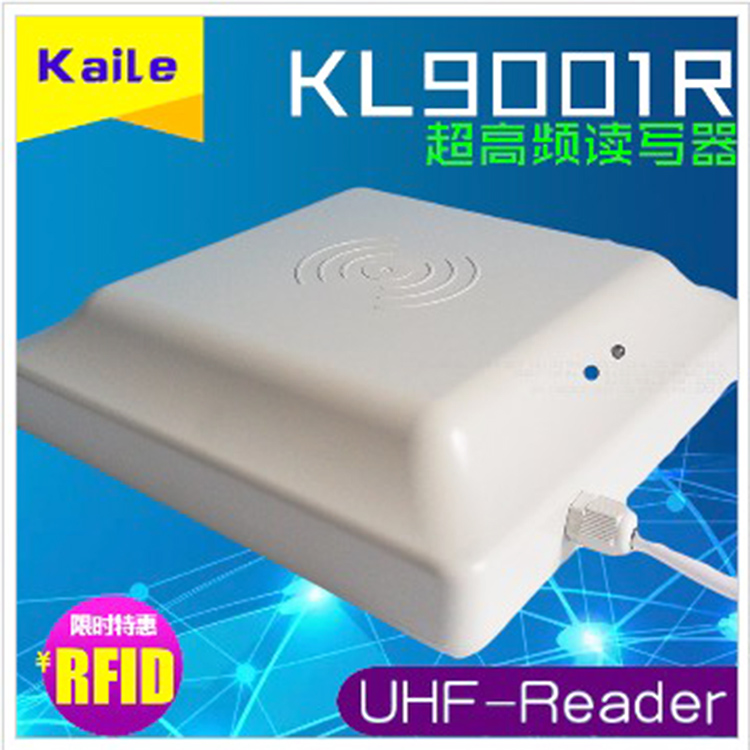 Kaile KL9001R UHF Card Reader Pipeline Automatic Management Timing Counter RFID Reader