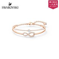 (Новый) Swarovski SWA INFINITY вечная любовь ламинирование дизайн женский браслет для подруги