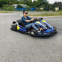 Single two-seater field Drift Gasoline electric Go-kart F1 style Racing amusement Beach Off-road sports playground