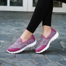 ladies breathable mesh sports sneakers women casual shoes
