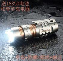 Manker TIMEBACK II time Reel 2 fingertip gyro titanium flashlight