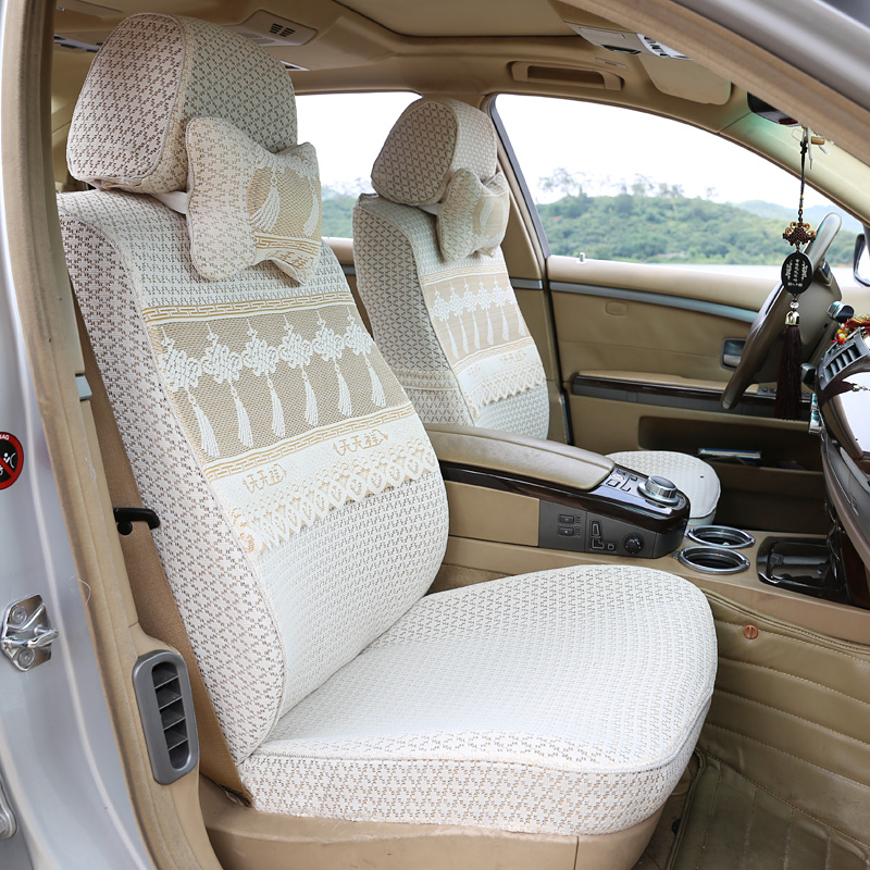 Customized full-enclosed lace seat cushion cover Four Seasons seat cushion cover special cloth seat cover