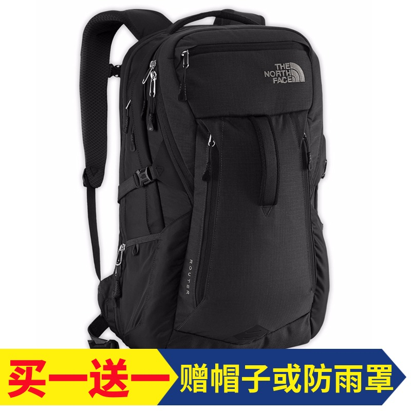 The northface North outdoor backpack Men's hiking mountaineering bag Portable waterproof Travel Shoulder Bag