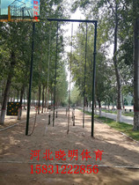 Outdoor climbing frame climbing frame outdoor climbing rope climbing Rod ladder three-in-one climb high training device for military training