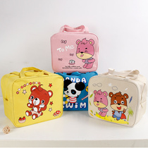 Insulation Lunch Box bag cute cartoon bento Bag portable waterproof oxford cloth lunch Box bag aluminum foil thickened large