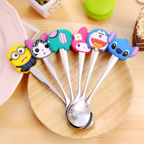 Creative Elementary School Prizes stainless steel spoon cute cartoon spoon coffee spoon spoon child birthday present