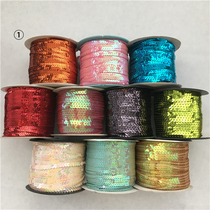 Colorful sequins with 10 rolls in each group can be selected according to the number of the color group