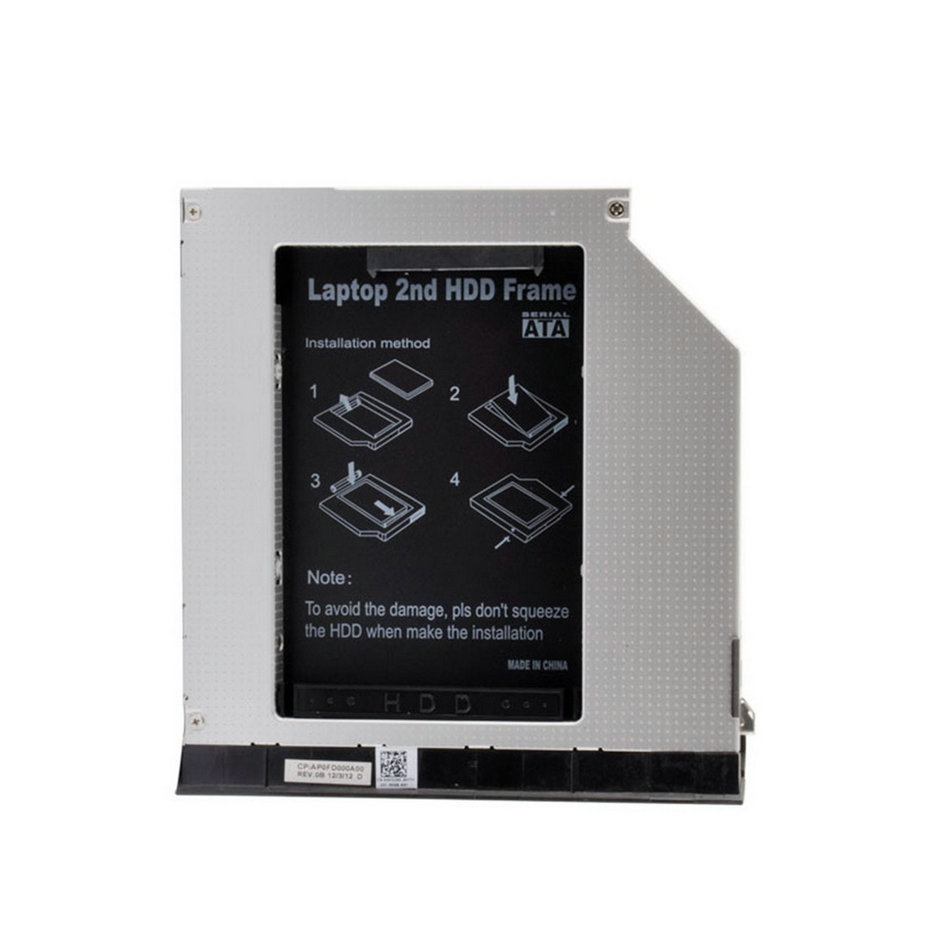 Laptop hard drive,Laptop Second HDD Frame Hard Drive Caddy W/ Ejector Module