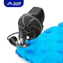 Beishan Wolf electric air-pumping 牀 swimming ring gas cylinder portable two-vehicle pump new products