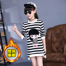 Girl children in the spring and autumn cotton bottoming shirt