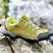 Still walk waterproof outdoor shoes mountaineering shoes mens shoes ladies couple off-road hiking shoes anti-skid wear-resistant fishing climbing shoes